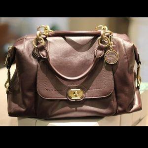 Coach Lavender/Purple Campbell Purse & Wallet